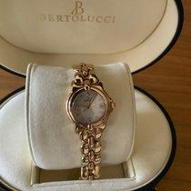 Bertolucci Ladies Pulchra YG MOP 25mm Diamond Dial
