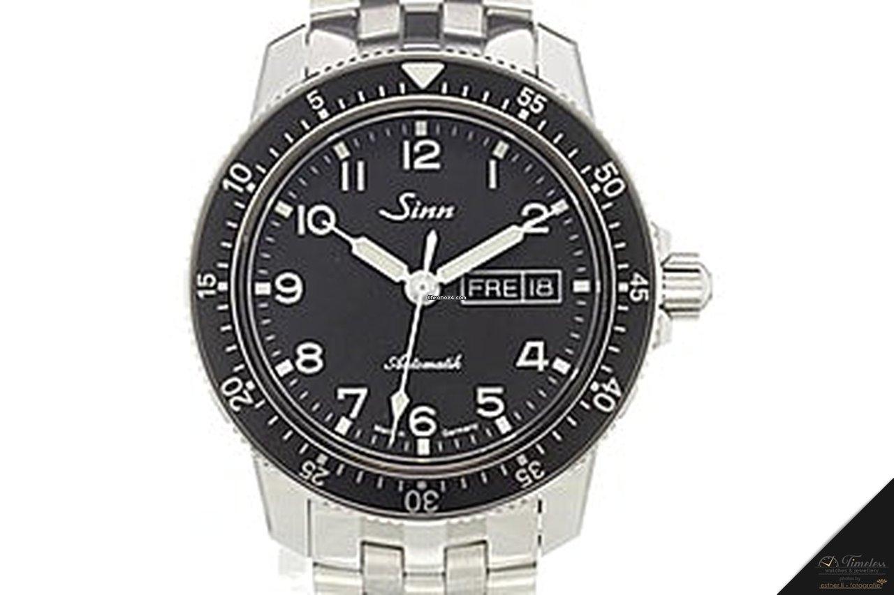 Sinn 104 St Sa A classic pilot watch bracelet NEW for ...