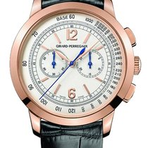 Girard Perregaux Red gold Automatic Silver 40mm new 1966