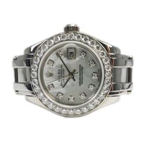 Rolex Lady-Datejust Pearlmaster White gold 29mm Mother of pearl No numerals United States of America, California, La Jolla