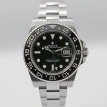 Rolex GMT-Master II Date 40 mm Steel Ref# 116710LN Black Dial