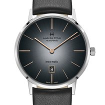 Hamilton Intra-Matic Steel 42mm Black United States of America, New Jersey, Cherry Hill
