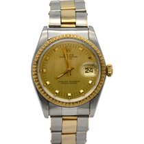 Rolex 1505 Gold/Steel Oyster Perpetual Date 34mm pre-owned
