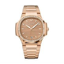 Patek Philippe Nautilus Rose gold 35.2mm Gold Arabic numerals United States of America, New York, NYC