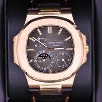 Patek Philippe Nautilus Gray/Brown Dial Rose Gold 40mm 5712R-001