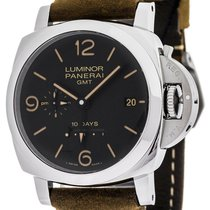Panerai Luminor 1950 10 Days GMT new Automatic Watch with original box PAM00533