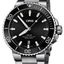 Oris Steel Automatic Black 44mm new Aquis Date