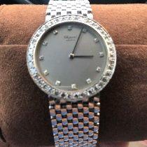 Chopard Platin Handaufzug Silber Keine Ziffern 34mm gebraucht