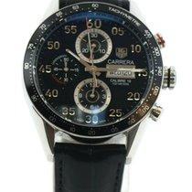 TAG Heuer Carrera Calibre 16 Steel 43mm Black Arabic numerals