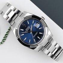 Rolex Datejust Acero y oro 41mm Azul