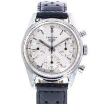Heuer Steel 35.5mm Manual winding 2447D pre-owned United States of America, Georgia, Atlanta