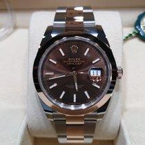 Rolex Or/Acier 41mm Remontage automatique 126301 nouveau