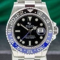 Rolex 116710BLNR Сталь 2016 GMT-Master II 40mm подержанные