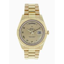 Rolex 218238 White gold 2010 Day-Date II 41mm pre-owned United States of America, New York, New York