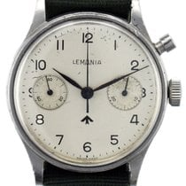 Lemania Acero 38mm Cuerda manual Lemania Nuclear Submarine Chronograph usados
