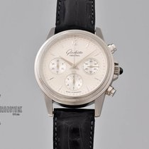 Glashütte Original Senator Chronograph Platinum 39mm Silver