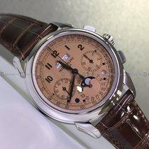 Patek Philippe Perpetual Calendar Chronograph Platinum Orange