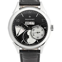 Pequignet Steel Automatic 42mm new Rue Royale