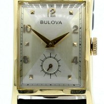Bulova Yellow gold 23mm Manual winding pre-owned United States of America, California, West Hollywood