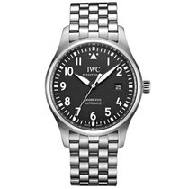 IWC Pilot Mark Steel 40mm Black Arabic numerals United Kingdom, London