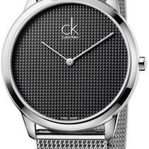 ck Calvin Klein new Quartz 40mm Steel Mineral Glass