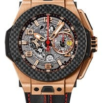 Hublot Big Bang Ferrari Or rose 45mm Transparent Arabes