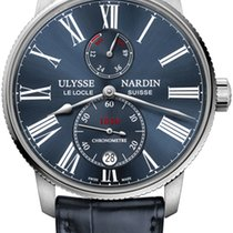 Ulysse Nardin Steel 42mm Automatic 1183-310/43 new