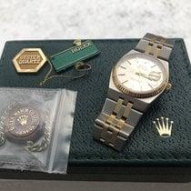 Rolex Datejust Oysterquartz Aur/Otel 36mm Auriu Fara cifre