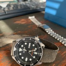 Seiko Prospex Steel 42mm Black United States of America, New Hampshire, Portsmouth
