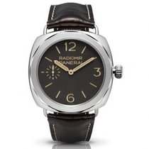 Panerai Platinum Manual winding Brown Arabic numerals 47mm new Special Editions