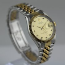 Rolex 15053 Gold/Steel 1980 Oyster Perpetual Date 34mm pre-owned United States of America, Colorado, Denver