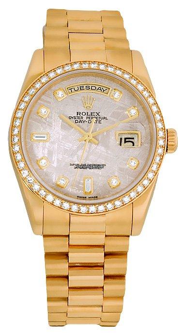 Rolex Datejust Mens 2-Tone Watch 16233 - chrono24comru