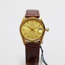 Lorenz Yellow gold 29mm Quartz 019493BW new