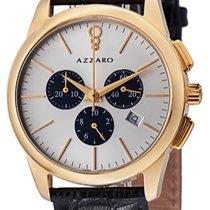 Azzaro Gold/Steel Quartz AZ2040.63SB.000 new