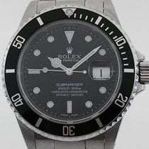 Rolex BLACK SUBMARINER WITH DATE