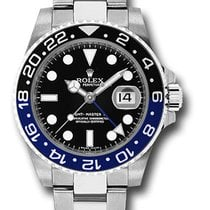 Rolex GMT-Master II Black and Blue BATMAN