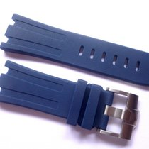 Compatible Blue Rubber strap for AP - 28mm Audemars Piguet Oak...