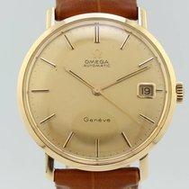 Omega Vintage Automatic Geneve ref. 162003 cal 565 Gold 18k