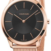 ck Calvin Klein Staal 40mm Quartz K3M2162Y nieuw