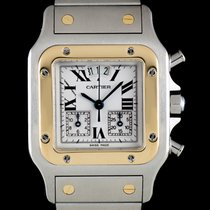 Cartier Santos Galbée pre-owned 29mm Gold/Steel