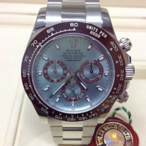 Rolex Daytona Platinum 116506 - B&P 2014 - Serviced By Rolex