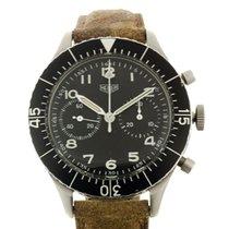 Heuer Bundeswehr Chronograph Valjoux 230 Military 43mm