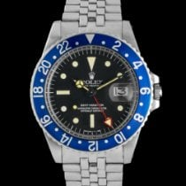 """Rolex GMT-Master - """"All red"""" """"Blueberry"""" Radial dial"""