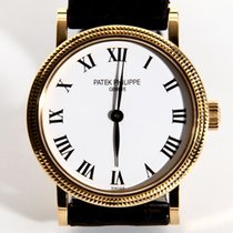Patek Philippe Calatrava Manual 18K/750 Noram Buckle Buterfly
