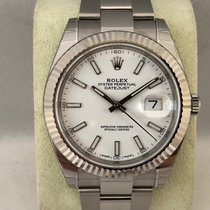 Rolex Datejust 126334 White Dial / 41mm ( New )