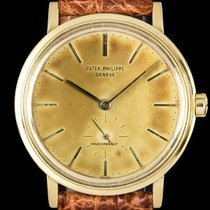 Patek Philippe 3429J Yellow gold 1965 Calatrava 35mm pre-owned United Kingdom, London