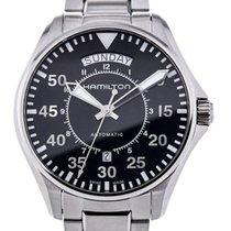 Hamilton Khaki Pilot Day Date nieuw Automatisch Horloge met originele doos en originele papieren H64615135