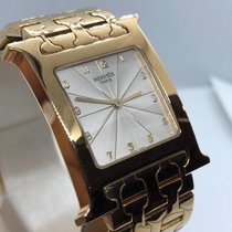 Hermès Yellow gold 27.5mm Quartz Heure H pre-owned UAE, Abu Dhabi