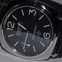 Panerai Radiomir Black Seal Acier 45mm Noir Arabes
