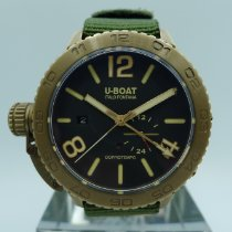 U-Boat 46mm Automatic pre-owned Brown